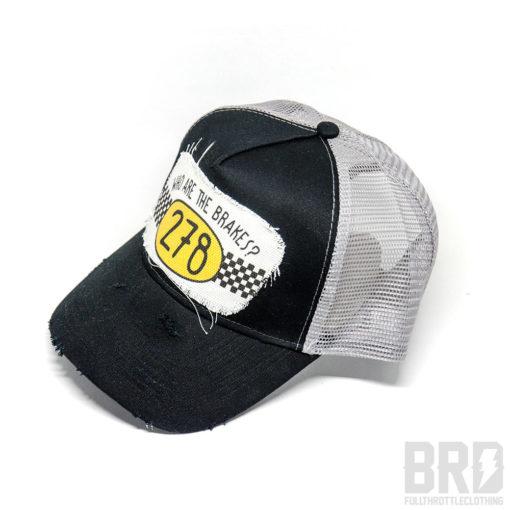 Cappellino Vintage Trucker Cap 278 Nero