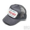 Cappellino Vintage Trucker Cap Devilsrace Grey