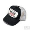 Cappellino Vintage Trucker Cap Roar & Rock Nero