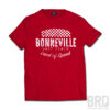 T-shirt Bonneville Salt Flats Red