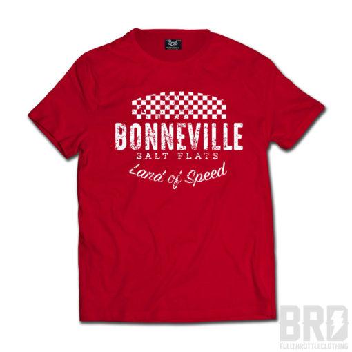 T-shirt Bonneville Salt Flats Red