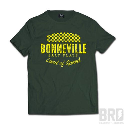 T-shirt Bonneville Salt Flats Green