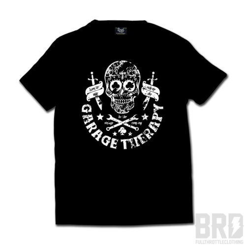 T-shirt Garage Therapy Black