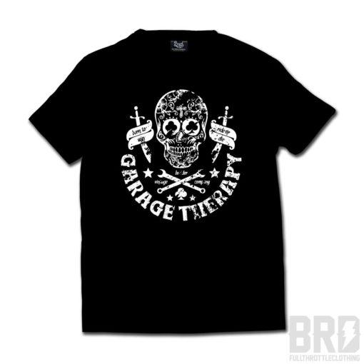 T-shirt Garage Therapy Black