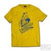 T-shirt Loud & Fast Giallo