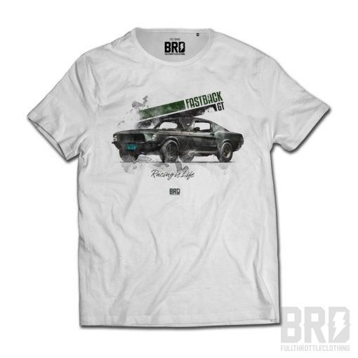 T-shirt Bullit Fastback GT