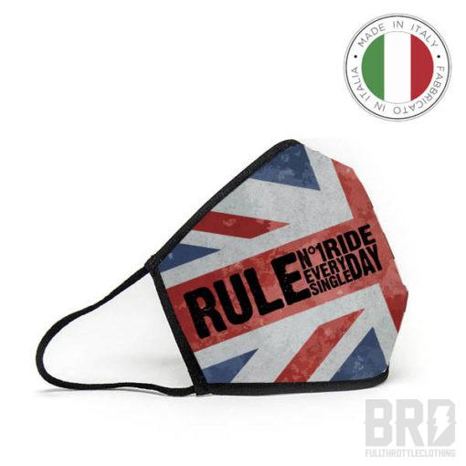 Mascherina Lavabile e Riutilizzabile British