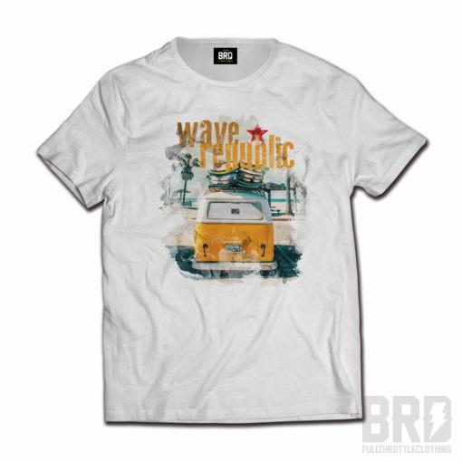 T-shirt Wave Republic T2
