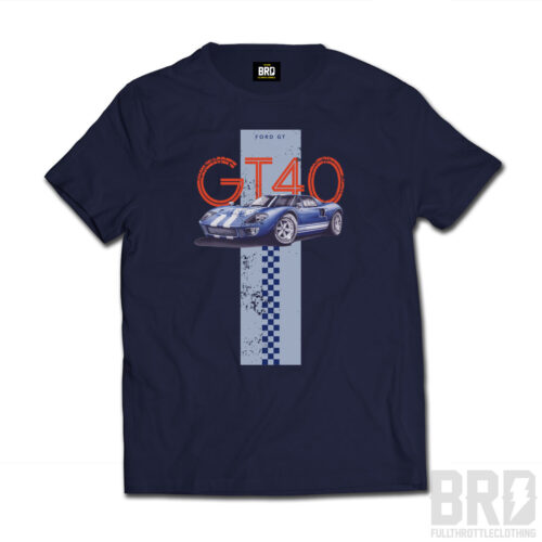 T-shirt GT 40 Navy