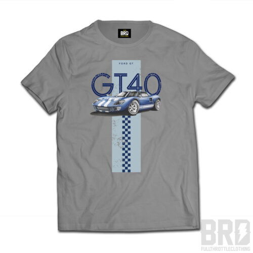 T-shirt GT 40 Solid Grey