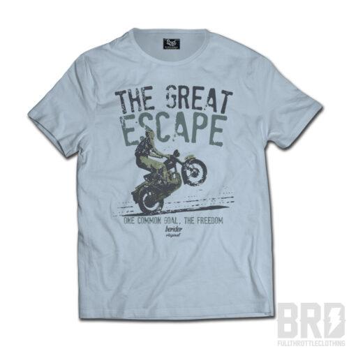 T-SHIRT Great Escape Azzurro