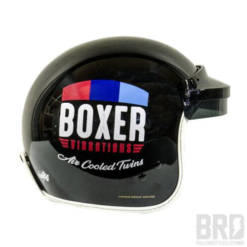 Casco Jet Boxer Vibrations Vintage Black Edition