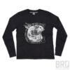 T-shirt Manica Lunga Rude Black