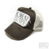 Cappellino Vintage Trucker Cap The Great Escape Marrone