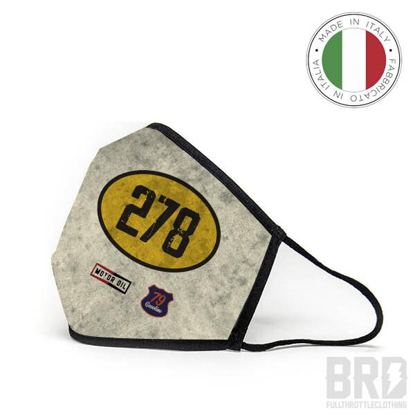 Mascherina Lavabile e Riutilizzabile Racing is Life 278