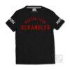 T-shirt Scrambler Racing Team Vintage Black